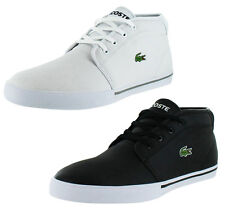 Lacoste Ampthill LCR Men's Mid Sneakers Shoes Leather US Sizes