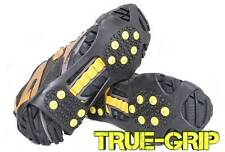Snow, Ice, Mud Shoe Grips-Cleats-Spikes-Crampons 10 Stud NON SLIP. Fast UK DEL