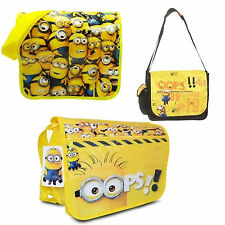 Official Despicable Me Minions School College Uni Despatch Bag New Gift