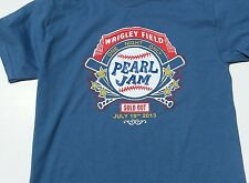 Pearl Jam Wrigley field concert t-shirt sold out 2013 Chicago Cubs  2014