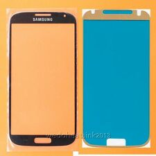 For Samsung Galaxy S4 i9500 Front Outer Lens Glass Touch Screen Replace+Adhesive
