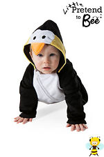 BABY TODDLER BOY GIRL PENGUIN ONESIE FANCY DRESS COSTUME OUTFIT 6-12-18 MONTHS