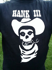 Hank Williams III Country Cowboy Shirt Choose  Size S/M/L/XL/2X/3X Great Design$