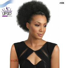 Bobbi Boss Speedy Up Do Top Bun Drawstring Ponytails - L Afro Pom