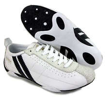 PATRICK SPIKY WHITE MENS BOYS TRAINERS SHOES BRAND NEW & BOXED - CLASSIC