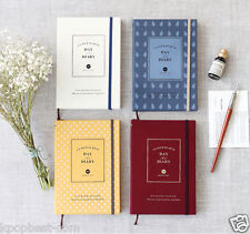 2015 Iconic Day And Diary Dated Scheduler Planner Korean Journal Agenda Book