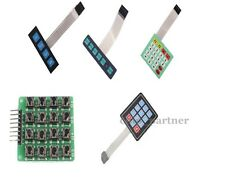 Matrix Keyboard Array Membrane Switch Keypad MCU Accessory Board for Arduino
