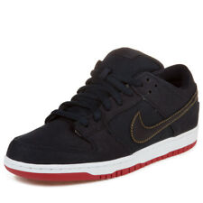 Nike Mens Dunk Low Premium SB Blue Denim Levis Obsidian Blue/Gold-Red 573901-447
