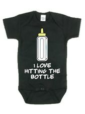 New Grindstore Kidz - I Love Hitting The Bottle Baby Grow