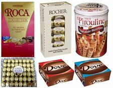 HUGE Chocolate Lover – Crème de Pirouline, Almond Roca, Lindt Lindor, Rocher ...