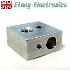 3D Printer Aluminium Hot End Heater Block Nozzle Extruder Assembly for Makerbot