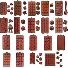 Handmade Cookie Jelly Pudding Silicone Chocolate Cake Mould Mold Bakeware Tools