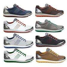 ECCO Biom Hybrid 2 Spikeless Waterproof -Yak Leather Mens Golf Shoes