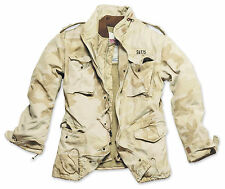 SURPLUS VINTAGE REGIMENT M65 JACKET WASHED CLASSIC PARKA US FIELD DESERT CAMO