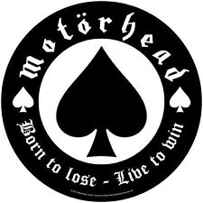 Motorhead Born To Lose Backpatch - NEW & OFFICIAL