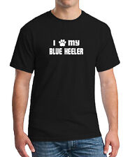 I PAW MY BLUE HEELER Dog Puppy Cat Animal Unisex T-shirt All Color & Size