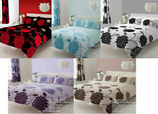 Duvet Cover With Pillow Case Bedding Set Quilt Cover Single Double King Sophia