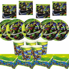 Teenage Mutant Ninja Turtles Birthday Party Tableware, Plates, Cups, Napkins !!