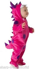 Baby Girls Pink Dinosaur Monster Halloween Christmas Fancy Dress Costume Outfit