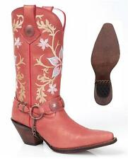 "NEW Durango Boots CRUSH Women's EMBROIDERED 12"" HARNESS Leather Western Cowboy"