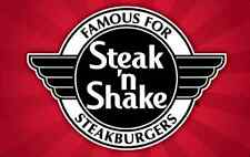 Steak 'n Shake Gift Card $25/$50/$100