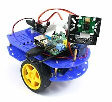 Raspberry Pi Camera Robot - Chassis Bundle - Drive with tablet, smartphone or PC