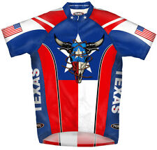Primal Wear Don't Mess With Texas Cycling Jersey Men's short sleeve bicycle +sox