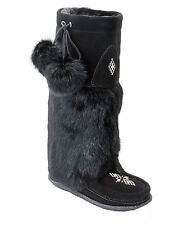AUTHENTIC TALL SUEDE MUKLUK (CREPE) FROM MANITOBAH MUKLUKS