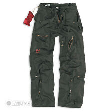 SURPLUS INFANTRY CARGO TROUSERS RAW VINTAGE CARGO COMBAT PANTS BLACK