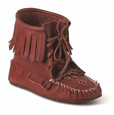 AUTHENTIC HARVESTER GRAIN MOCCASIN FROM MANITOBAH MUKLUKS