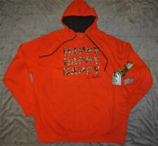 Duck Dynasty Duck Commander Realtree Max-4 Happy Mens Pullover Hoodie Orange NWT