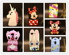 For HuaWei Honor Ascend 3D Disney Animal Cartoon Kid Soft Silicon Rubber Case