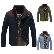Padded Warm Heavy Winter Casual School Young Boy Business Men Coats Jacket Outer