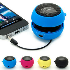 Portable 3.5mm Hamburger Speaker Amplifier For iPod iPhone Tablet Laptop PC MP3
