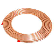 Microbore Copper Pipe - Tube - 8mm - 10mm Gas Water Various Lengths 1m-10m