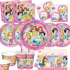 Disney Princess Girls  Birthday Party Tableware, Plates, Cups, Napkins,