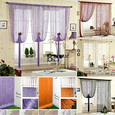 Romantic Decorative String Curtain With Beads Door Window Panel Room Divider