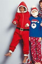 BNWT Next Boys Santa All in One Onesie in All Sizes PERFECT FOR XMAS
