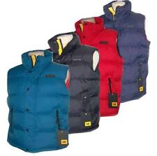 New Caterpillar Pinnacle Mens Padded Gilet/bodywarmer  Sz M L XL  4 Colours