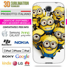 COVER MINIONS 5 PER IPHONE IPOD GALAXY Z10 HTC LUMIA XPERIA NOTE LG HUAWEI