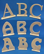 Free Standing Wooden Letters Word Name Wedding Decotration Alphabet Numbers