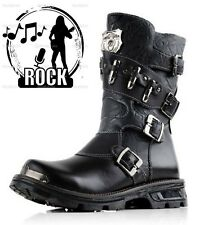 2014 NEW Sreet TOP PUNK Rock-COOL# Men Fashion Motorcycle Army Boot# PU leather