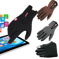 Touch Screen Hand Winter Riding Ski Snow Snowboard Motorcycle Gloves Size M/L