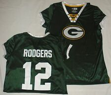 Green Bay Packers Football Ladies Draft Me Rodgers Jersey Green New