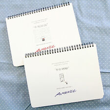 [New Romance Ver.1]Diary Scheduler Book Journal Yearly Weekly Daily Planner