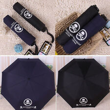 Youth Men's Top Cool Personalized Skull Windproof Folding Anti UV Auto Umbrella