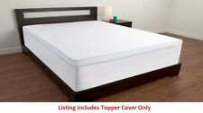"Comfort Revolution Topper Cover For 1.5"" - 4"" Memory Foam Bed Toppers"