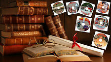 Your Choice of CD's Full of Old Vintage Books in PDF