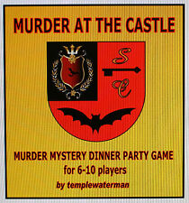 HOST A 'GOTHIC HORROR' MURDER MYSTERY DINNER PARTY GAME ~~ FOR 6-10 PLAYERS