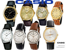 Casio Classic Leather Strap Unisex Watch Water Resist Presentation Box Guarantee